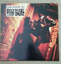 "PUSSY GALORE ""DIAL M FOR..."" Vinyl LP  (PRODUCT INC LP 1)***VERY RARE***"