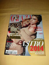 GRAZIA N°222 décembre 2013 Pharrell Williams Cara Delevingne