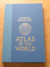 National Geographic Atlas of the World, 5th edition 1981 Hard Cover Blue Cloth