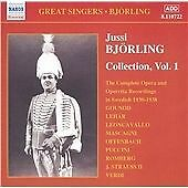 Jussi Bjorling Edition Vol. 1 CD NEW