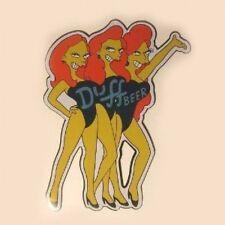 The Simpson Duff Beer Girls Metal Sign