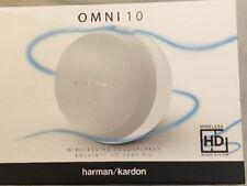 Harman/Kardon Omni 10 WiFi HD Speaker System with Bluetooth & Firecast - White