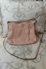 $260 COACH 'Isabelle' Large Light Pink Leather Soft-Body Shoulder Bag
