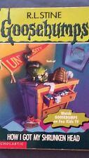 GOOSEBUMPS #39 How I Got My Shrunken Head R. L. Stine MORE BOOK IN OUR STORE