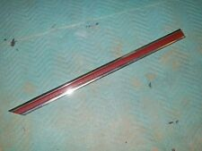 1976 77 78 Dodge Aspen 4D NOS MoPar Right Rear Door MOLDING RED #4057328