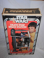 VINTAGE STAR WARS ORIGINAL DEATH STAR PLAYSET COMPLETE WITH BOX 1978 KENNER