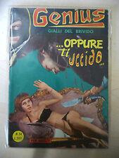 GENIUS GIALLI DEL BRIVIDO N. 54 FURIO VIANO EDITORE1968 - FUM0