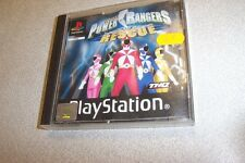 JEU PLAYSTATION 1 PS1 SABAN'S POWER RANGERS LIGHSPEED RESCUE notice + jeu