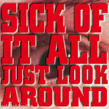 SICK OF IT ALL – JUST LOOK AROUND LP repress
