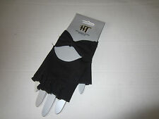 BLACK JERSEY KNIT BOW  GLOVES  FROM HOT TOPIC