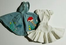 Vintage Barbie Doll 1960s Friday Night Date #979 Blue Jumper & White Underdress