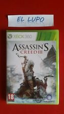 ASSASSIN'S CREED III 3 XBOX 360 NEUF SOUS BLISTER VERSION FRANCAISE