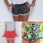 Hot Women Lady's Sexy Hot Pants Summer Casual Shorts High Waist Short Beach