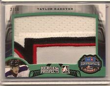 TAYLOR RADDYSH 2015-16 LEAF ITG HEROES & PROSPECTS GAME USED PATCH /10