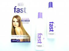 NISIM FAST SHAMPOO & CONDITIONER 300ML TO GROW HAIR FASTER SULFATE FREE