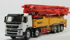 1/50 SANY VOLVO 62m truck mounted Concrete pump SY5502THB Diecast Model