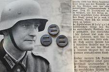 3 Unterlegscheiben für Stahlhelm M35 M40 M42 Splint Wehrmacht