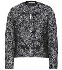 Balenciaga Astrakhan-Jacquard Toggle Jacket & Skirt