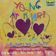 ERICH KUNZEL - CINCINNATI POPS ORCHESTRA : YOUNG AT HEART / CD - TOP-ZUSTAND