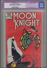 Moon Knight #24 CGC 9.6 1982 Best Cover award