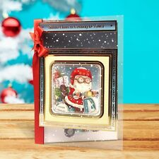HUNKYDORY Christmas Traditions Card Making Craft Topper Kit - Magical Toy Shop