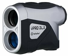 TecTecTec VPRODLX Silver Golf Laser Rangefinder - Waterproof Design - New 2016