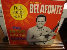Harry Belafonte Folk Songs With The Islanders VG+ Condition Coronet CXS 115 1960