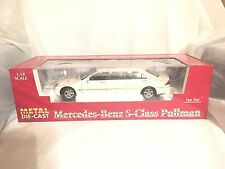 Mercedes-Benz S-Class S600 Pullman Limousine (WHITE)NEW,SEALED,MINT,''CLASSIC''