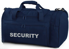 SECURITY Navy Holdall/Work Bag Ideal for SIA, SECURITY, PATROL, DOOR STAFF