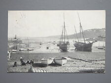 R&L Postcard: St Ives Harbour, Photochrom, 1925, Fishing Boats