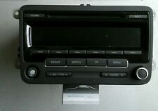 VW Polo 6R Autoradio Radio CD Player Defekt an Bastler 5M0035186J