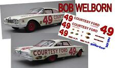 CD_594 #49 Bob Welborn  1960 Ford Starliner   1:18 Scale Decals