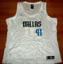 DIRK NOWITZKI DALLAS MAVERICKS JERSEY 2XL LADIES NBA