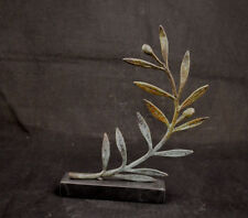 """Olive bronze aged branch """"The price"""" for the  winners in Olympic Games artifact"""