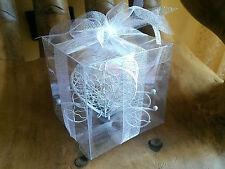 Bomboniere matrimonio Shabby chic carrozza  promessa scatola Confetti romantica