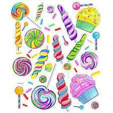 SWEET CANDY WALL DECALS * birthday party decorations * candy theme *