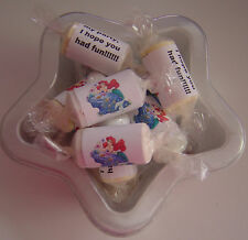 10 LITTLE MERMAID LOVE HEART SWEETS  PARTY BAG FILLERS/CAN SUIT ALL OCCASSIONS