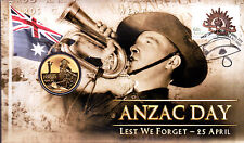 2012 ANZAC Day Lest We Forget 25th April FDC/PNC
