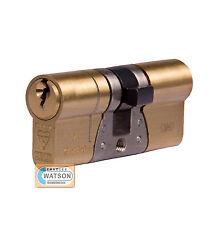 37/45 BRASS TS007 3* Anti Snap Bump Pick ABUS E90 EURO CYLINDER Door Lock