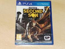 Infamous Second Son PS4 Playstation 4 **BRAND NEW & SEALED**