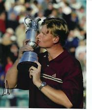 Ernie Els Genuine Hand Signed 10x8 Photo Open Championship 2002 (B)