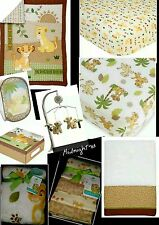 ������NEW 12 PIECES DISNEY BABY THE LION KING UNDER THE SUN CRIB BEDDING SET����