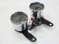Motorcycle Odometer Speedometer Tachometer Speedo Bracket for Honda Cafe Racer