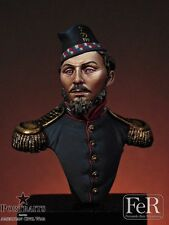 FeR 79th New York State Militia ACW 1/16th minibust Unpainted resin kit