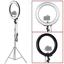 "New Camera Photo Video 18"" Outer 14"" Inner Dimmable Ring Fluorescent Flash Light"