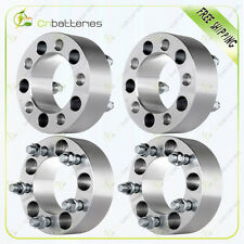 "4pcs  2"" Wheel Spacers 5x4.5 1/2"" Studs For Jeep Wrangler Lincoln Mercury Ford"