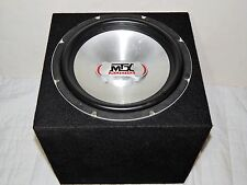 "MTX Audio 12"" Car Sub Subwoofer Bass Speaker 600 Watt Max MZS1204 (Thunder 5500)"