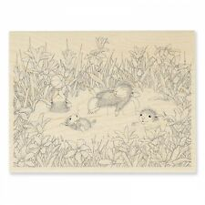 HOUSE MOUSE RUBBER STAMPS PUDDLE PLAY NEW STAMP