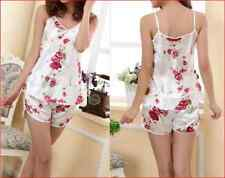 Sexy lingerie Sleepwear Nighty Bathrobe Babydoll girls Lingerie chemise printed