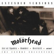 Motorhead Extended Versions CD